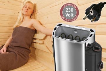 Plug&Play Sauna Ofen 230V >