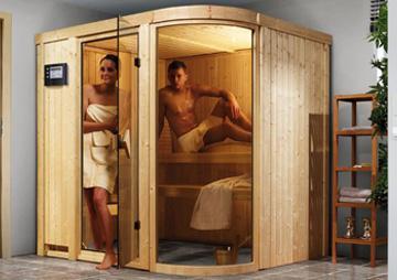 Sauna für 2-4 Personen >