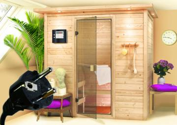 heim sauna dampfsauna gartensauna aus holz online kaufen. Black Bedroom Furniture Sets. Home Design Ideas