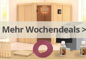 Sauna Sonderangebote
