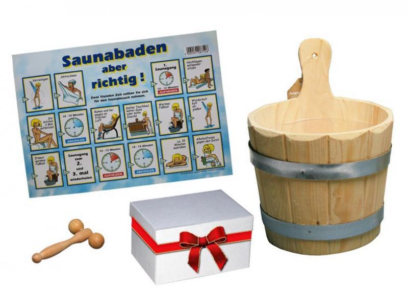 Sauna Geschenkset 5-teilig