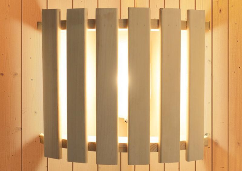 Karibu Set 2: Leuchte Modern inkl. Kabel A, B, C und Geschenkset Aufgusskonzentrate