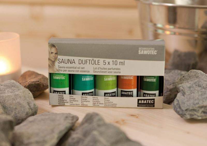 Karibu Set Saunaaufguss Ätherische Öle (5x 10ml)