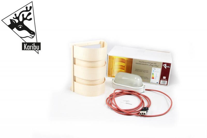 Karibu Leuchte CLASSIC - 230 Volt für Sauna