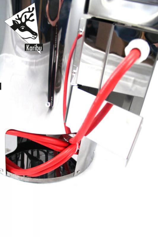 Karibu Plug&Play Saunaofen BiO-Ofen elektronischer Außensteuerung 3,6 KW (230 Volt) modern