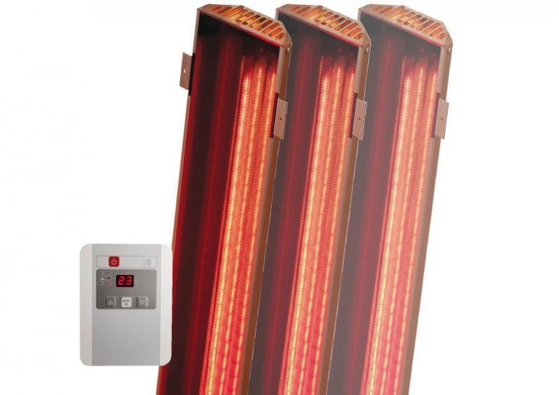 Karibu VITAMY-Strahler inkl. Steuergerät - Set A für Saunen bis 1,80m