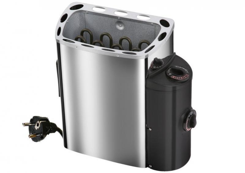 Karibu Saunaofen 230 Volt Ofen 3,6 kW - mit int. Steuerung