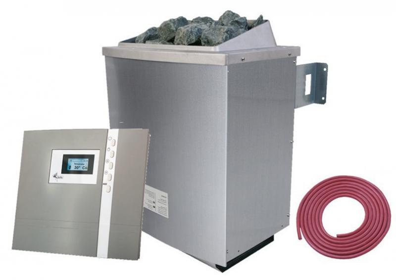 Karibu Ofen 9 kW - inkl. ext. Steuerung Premium und Kabel A + B