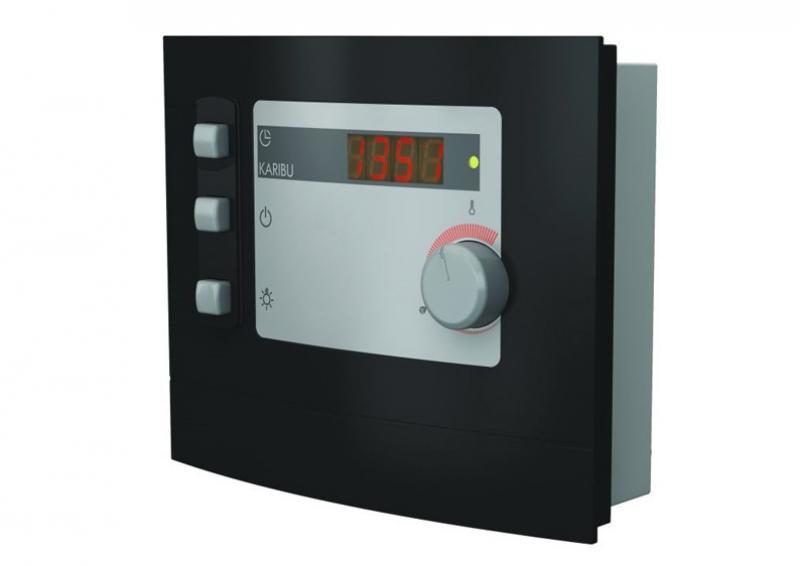 Karibu Steuergerät Modern für finische Saunaöfen von 3,6 bis 9 kW