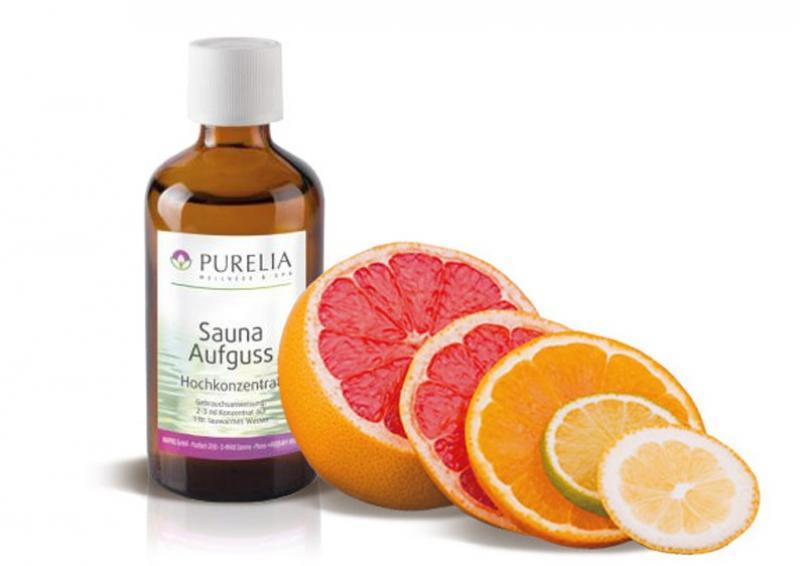 Purelia Aufgusskonzentrat Saunaduft 100 ml Citrus