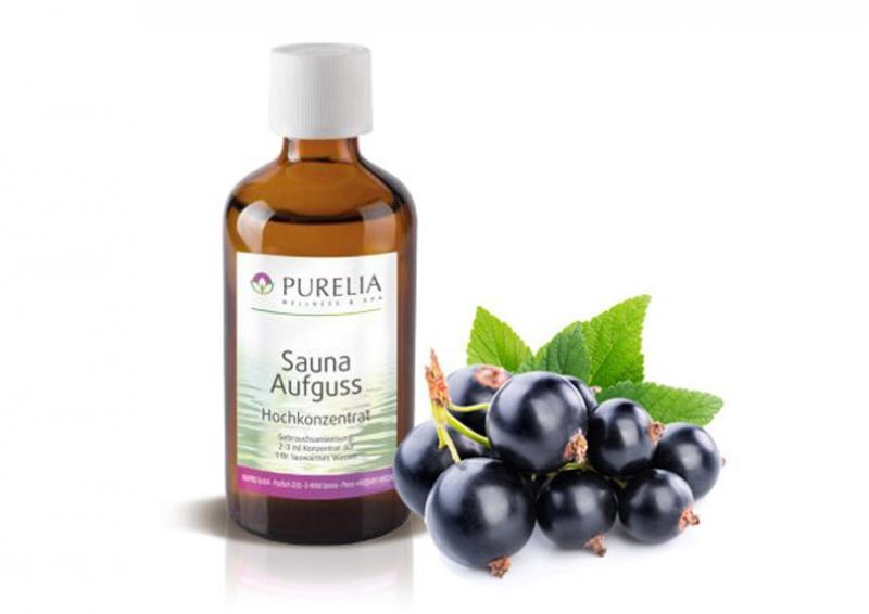 Purelia Aufgusskonzentrat Saunaduft 50 ml Johannisbeere schwarz