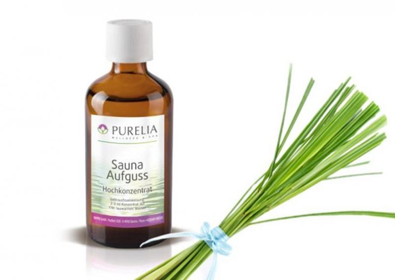 Purelia Aufgusskonzentrat Saunaduft 50 ml Lemongras