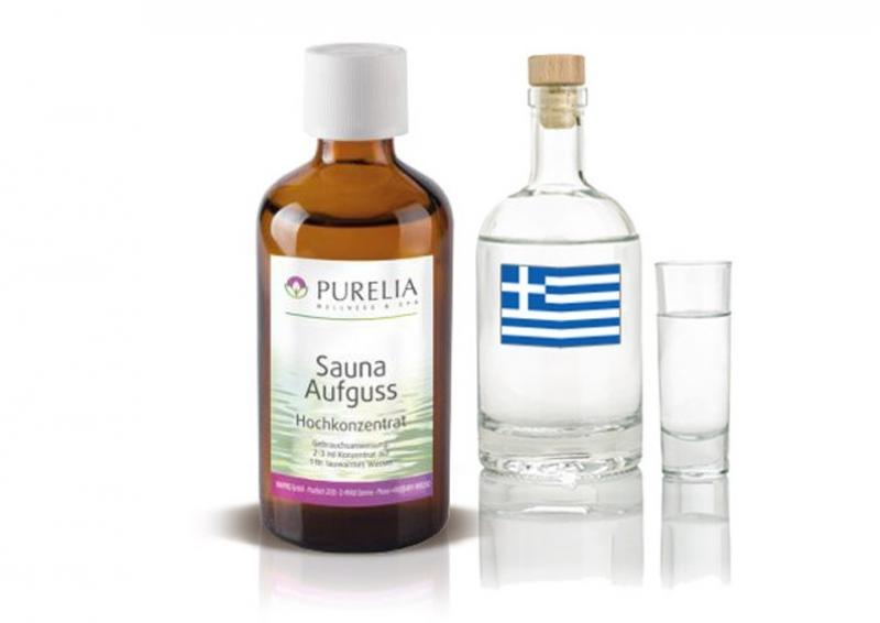 Purelia Aufgusskonzentrat Saunaduft 100 ml Ouzo