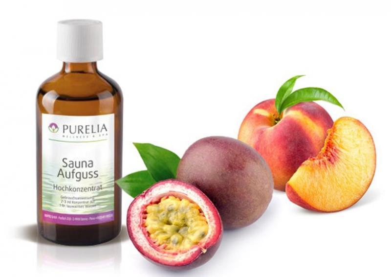 Purelia Aufgusskonzentrat Saunaduft 100 ml Pfirsich-Maracuja