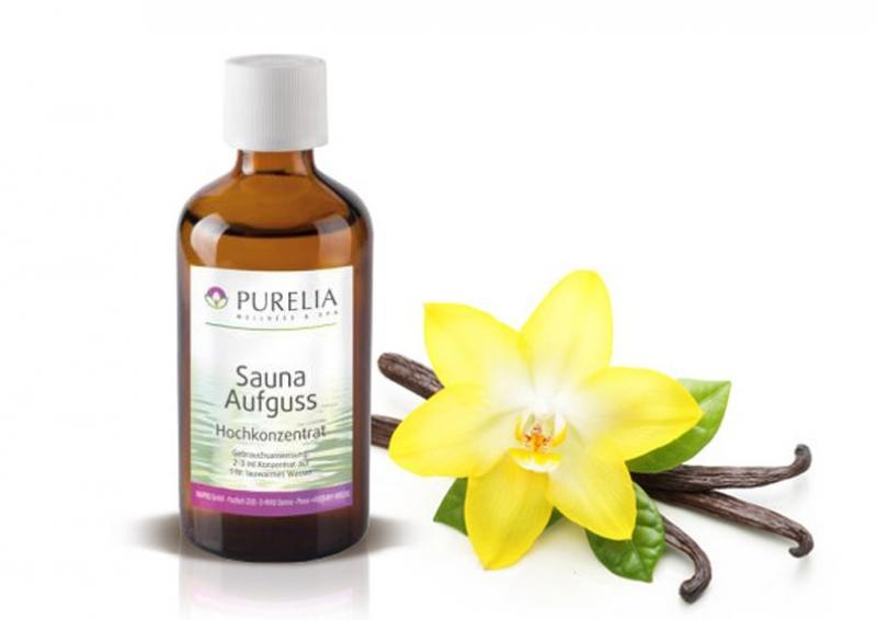 Purelia Aufgusskonzentrat Saunaduft 50 ml Vanille