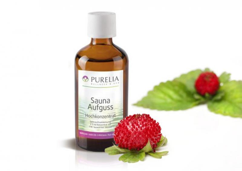Purelia Aufgusskonzentrat Saunaduft 50 ml Wilde Erdbeere