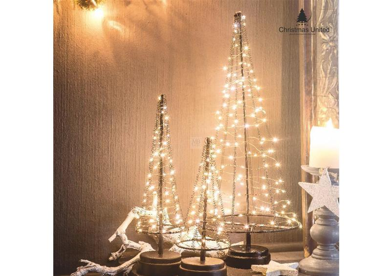 led lichterbaum kegel weihnachtsbaum f r innen gr e l. Black Bedroom Furniture Sets. Home Design Ideas