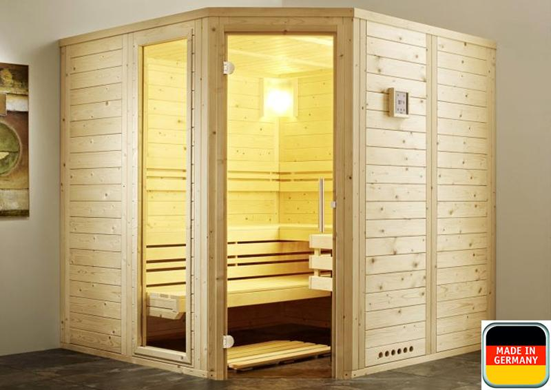 infraworld sauna auf ma classico fichtenholz 44 mm massivbau von l nge 130 250 cm breite 130. Black Bedroom Furniture Sets. Home Design Ideas