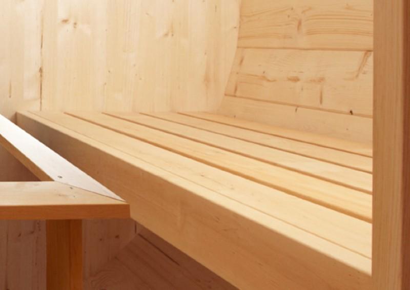 wolff finnhaus saunafass 280 selbst bausatz inkl roten. Black Bedroom Furniture Sets. Home Design Ideas