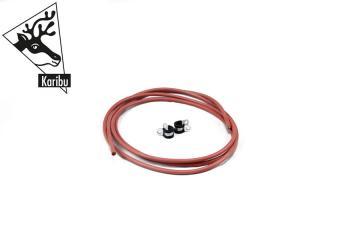 Karibu Kabel C für Saunaleuchte 3 m - dreiadrig 1,5mm