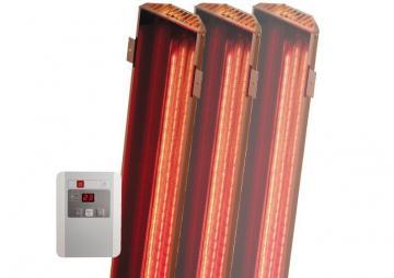 Karibu VITAMY-Strahler inkl. Steuergerät - Set B für Saunen bis 2,20m