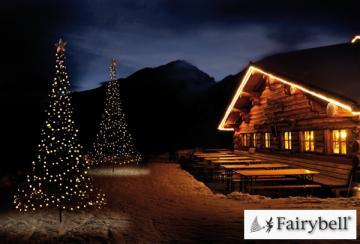 Fairybell LED-Weihnachtsbaum außen - christmas tree - Maße 300 x 150 cm - 360 LED-Lampen: warmweiß