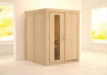 Karibu System Sauna Norin Energiespartür (Fronteinstieg) 68 mm ohne Zubehör