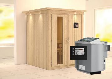 sauna kaufen karibu heim sauna w rmekabine infrarotsauna. Black Bedroom Furniture Sets. Home Design Ideas