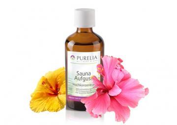 Purelia Aufgusskonzentrat Saunaduft 50 ml Hibiscus