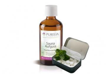 Purelia Aufgusskonzentrat Saunaduft 50 ml Pfefferminz-Menthol