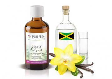 Purelia Aufgusskonzentrat Saunaduft 100 ml Rum-Vanille
