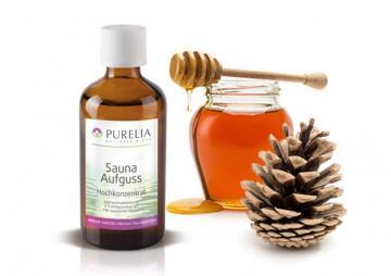 Purelia Aufgusskonzentrat Saunaduft 100 ml Tannenhonig