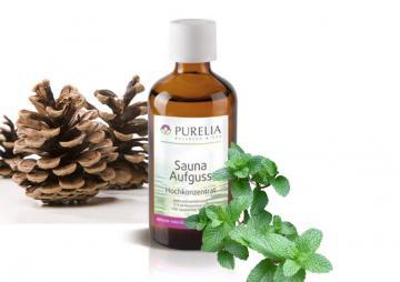 Purelia Aufgusskonzentrat Saunaduft 50 ml Tannenminze