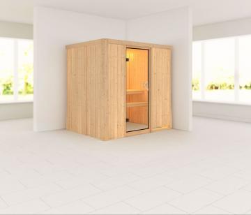 Karibu System Sauna Bodin Classic (Fronteinstieg) 68 mm ohne Zubehör