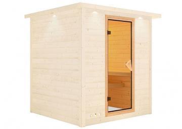 Karibu Sauna Türelement Classic für Sauna Wandstärke 68 mm
