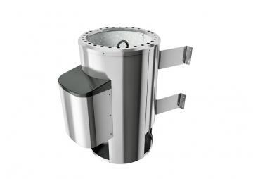 Karibu Saunaofen 230 Volt Ofen 3,6 kW - inkl. ext. Steuerung Modern