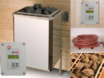 WEKA Sauna Zubehör Saunaofenset 1 - 3,6 kW Ofenset
