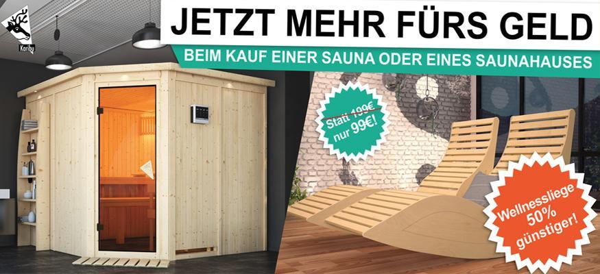 Sauna Günstig Kaufen: Sauna Bausatz Für Ihr Zuhause! Bis Zu  25%
