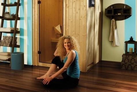 sauna f r 1 2 personen. Black Bedroom Furniture Sets. Home Design Ideas
