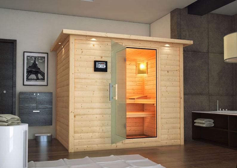 karibu massiv sauna sonara energiespart r fronteinstieg 40 mm ohne zubeh r. Black Bedroom Furniture Sets. Home Design Ideas