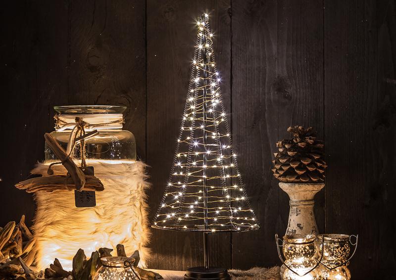 led lichterbaum kegel weihnachtsbaum f r innen gr e xl. Black Bedroom Furniture Sets. Home Design Ideas