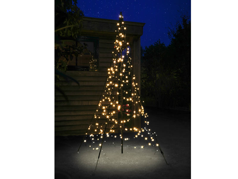 Fairybell led weihnachtsbaum lichterbaum h x b 300 x 150 cm 360 leds warm wei - Fairybell led weihnachtsbaum ...