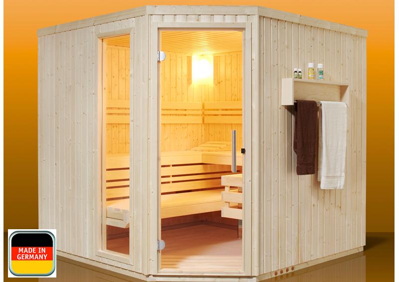 infraworld sauna auf ma aurora fichtenholz 75 mm elementbau von l nge 117 253 cm breite 117. Black Bedroom Furniture Sets. Home Design Ideas