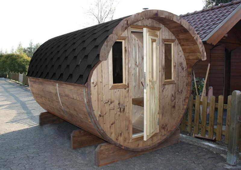 wolff finnhaus saunafass 220 selbst bausatz inkl. Black Bedroom Furniture Sets. Home Design Ideas