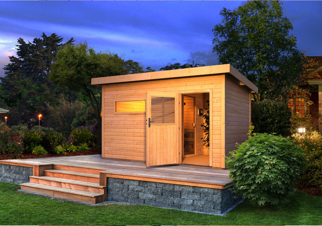 karibu gartensauna saunahaus skrollan 3 38 mm ofen 9 kw. Black Bedroom Furniture Sets. Home Design Ideas