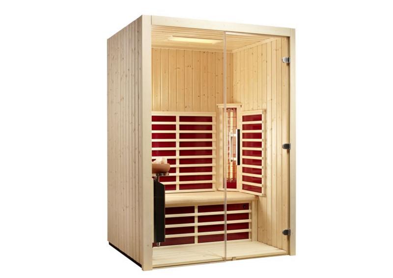 infrarot kabine elegant helo sun s pure infra cottage. Black Bedroom Furniture Sets. Home Design Ideas