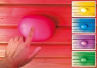 Karibu Leuchte LED Farblichtanwendung mit Touchfunktion