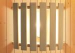 Karibu Leuchte MODERN für Sauna - Kabel C nötig