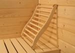 Karibu Rückenlehne ergonomisch für Sauna