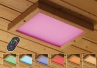 Karibu Leuchte Farblichtanwendung LED Premium Größe 2 inkl. Fernbedienung